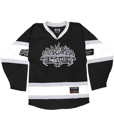 TESTAMENT 'ON THE DIAG' HOCKEY T-SHIRT