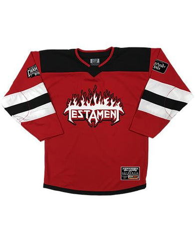 TESTAMENT 'OFFICIAL PUCK' ZIP HOCKEY HOODIE