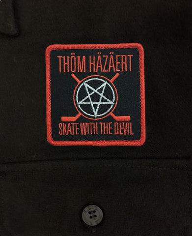 THOM HAZAERT 'SKATE WITH THE DEVIL' MESH BACK HOCKEY CAP