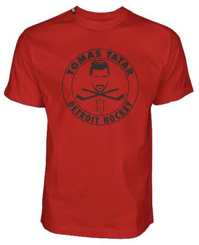 TOMAS TATAR 'MADE IN DETROIT' HOCKEY T-SHIRT