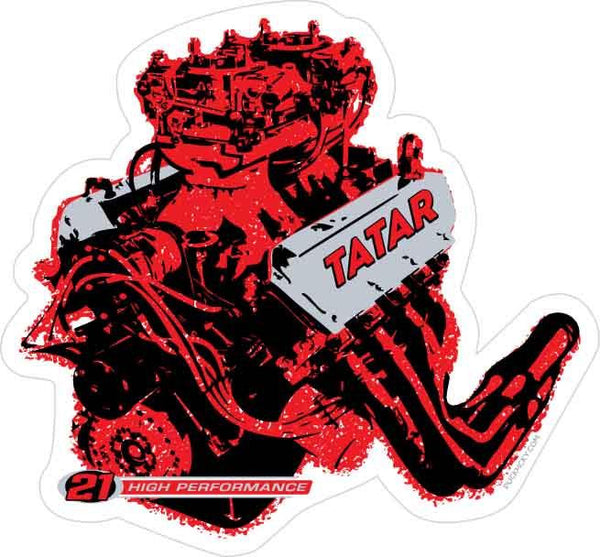 TOMAS TATAR 'HORSEPOWER' hockey sticker