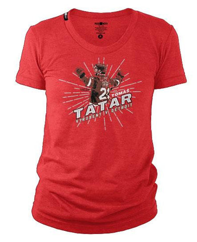 TOMAS TATAR 'DETROIT HOCKEY' HOCKEY T-SHIRT - Women's