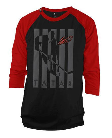 TOMAS TATAR 'SHIELD' HOCKEY T-SHIRT - Youth