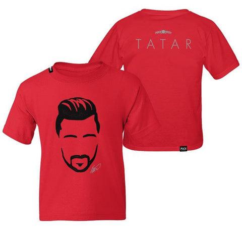 TOMAS TATAR 'HORSEPOWER' HOCKEY T-SHIRT