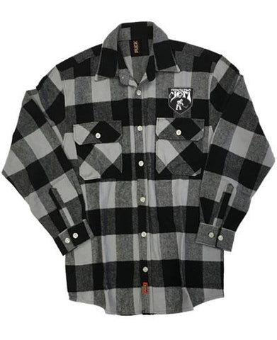 ALL HAIL THE YETI 'OIL HAIL THE YETI' HOCKEY FLANNEL