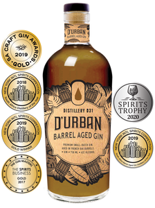 D'Urban Barrel Aged Gin 750ml (Distillery 031)