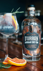 D'Urban Dry Gin 750ml (Distillery 031)