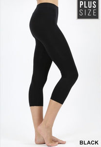 Seamless Capri Leggings 2X/3X