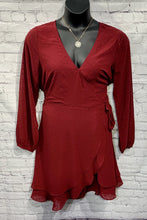 Load image into Gallery viewer, Burgundy Layer Dress XL/1X