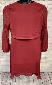 Burgundy Layer Dress XL/1X