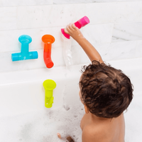"Boon Bath Tubes Game ""PIPES"""