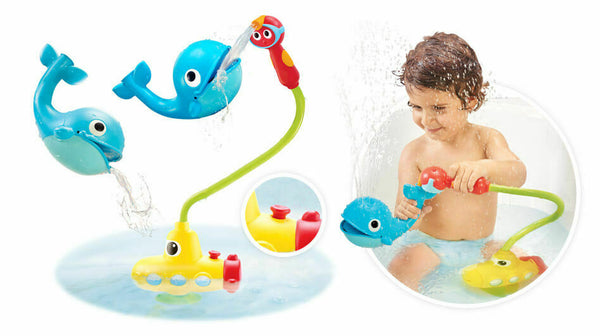 Yookidoo Children's toy submarine Whale Splashes Water