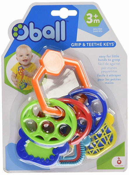 Teether multicolored keys Oball