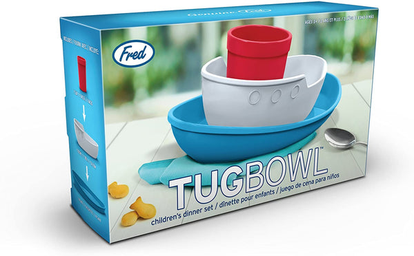 Set Pappa Barchetta multicolore per bambini - Fred Tug Bowl
