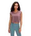 Mermaid Curve Crop Top - Athenian Fitwear
