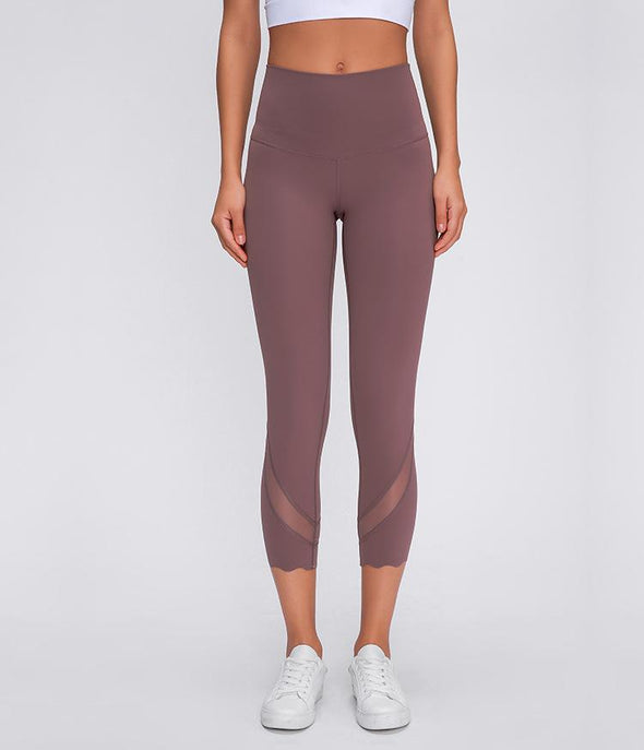 The Athena Mesh Patchwork Pant - Athenian Fitwear