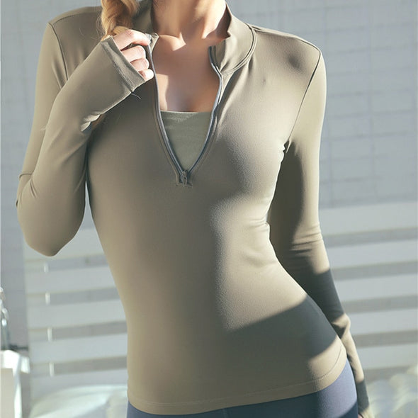 The Gaia 1/2 Zip - Athenian Fitwear