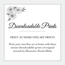 Load image into Gallery viewer, Dark Fairy Downloadable Print