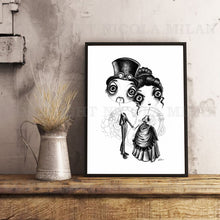 Load image into Gallery viewer, Lord and Lady Schubert Downloadable Print