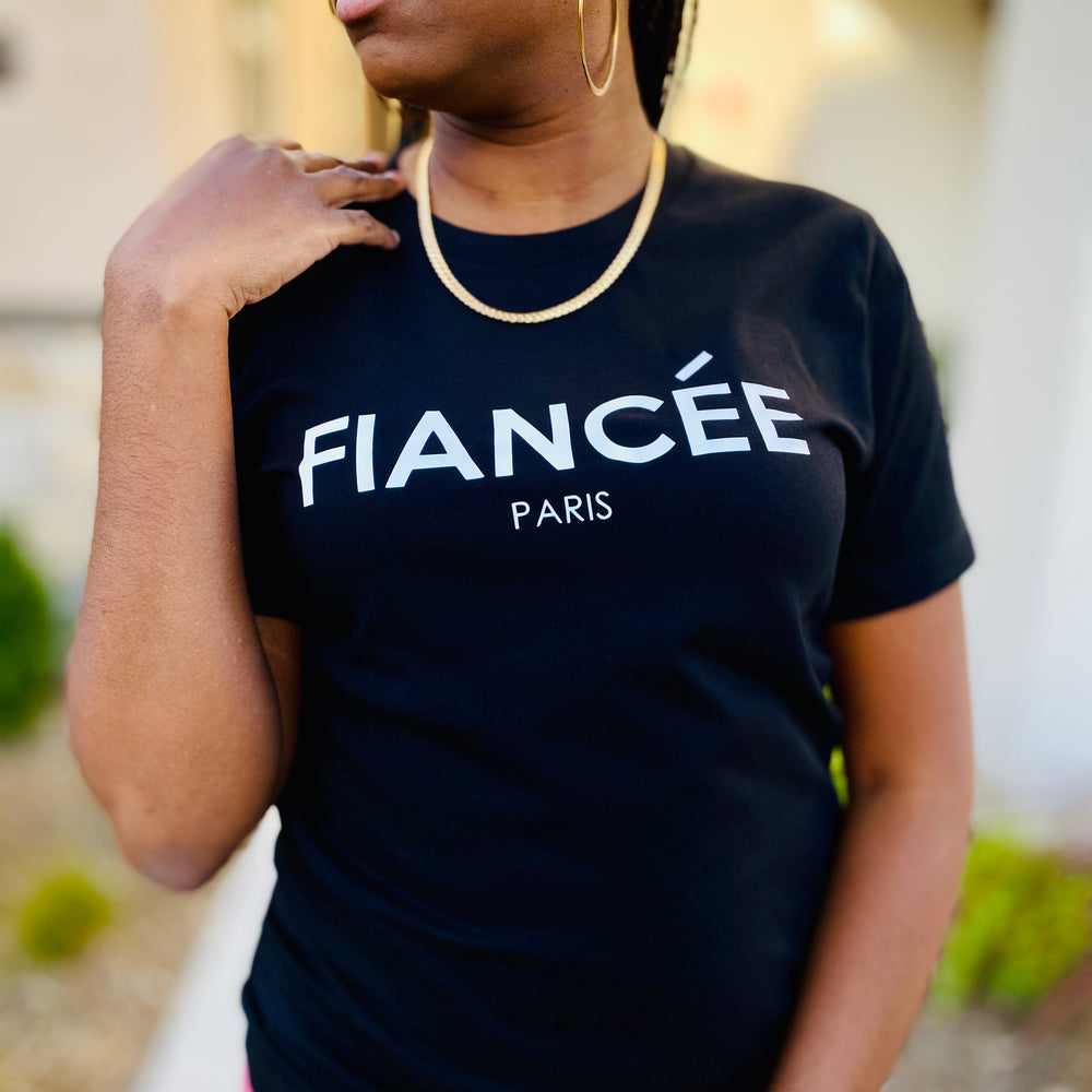 NOIRE FIANCEE IN PARIS TEE
