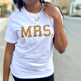 WHITE LEOPARD MRS. TEE