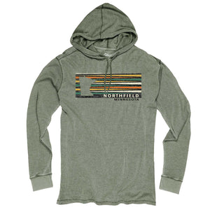 Northfield Burnout Wash Thermal Hoodie