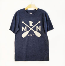 Load image into Gallery viewer, MN T-Shirt with Canoe Paddles, Men's