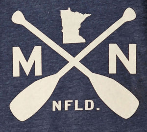 MN T-Shirt with Canoe Paddles, Men's