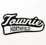 Wood Plaque, Townie