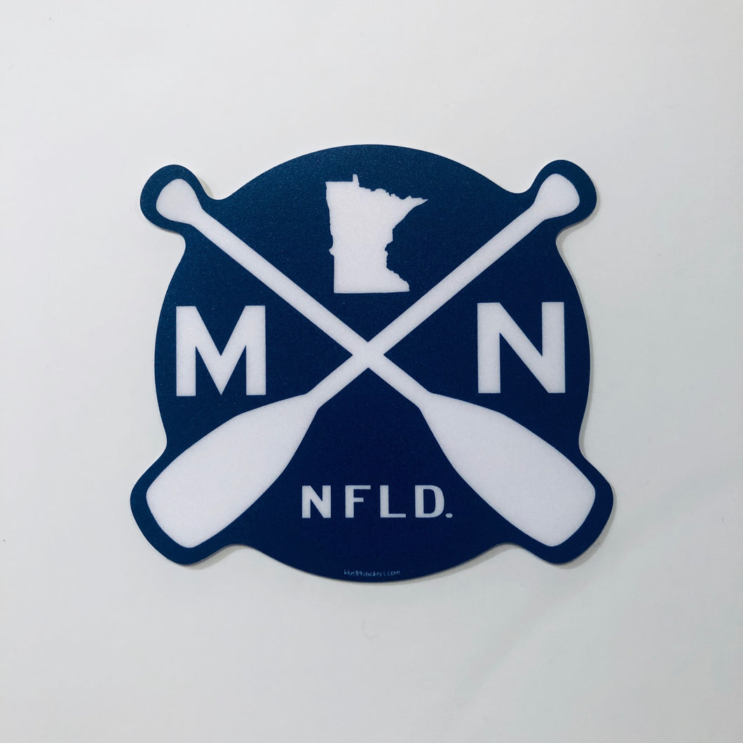 Sticker, Minnesota Paddles