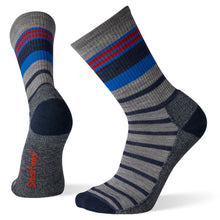 Load image into Gallery viewer, Smartwool Striped Lite Hiking Crew, Men's