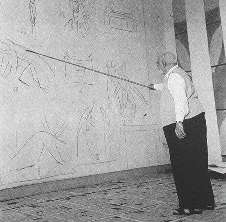 WHY WOULD MATISSE PICK UP A VERY LONG PAINTBRUSH?