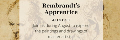Rembrandts apprentice, Trinity Paintbox course for August