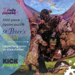 St Peter's Vision by Bob Booth - Jigsaw puzzle