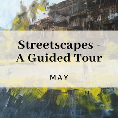 Streetscapes a guided tour, experimental art exercises