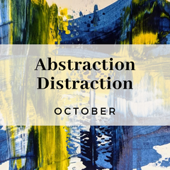 Abstraction Distraction, experimenting with abstract techniques