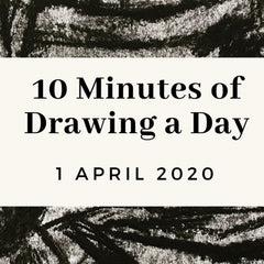 10 minutes of drawing a day