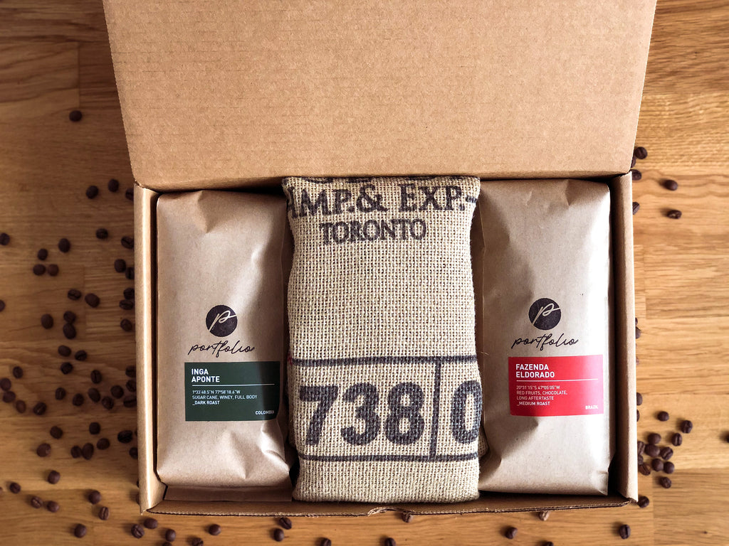 Coffee subscription boxes