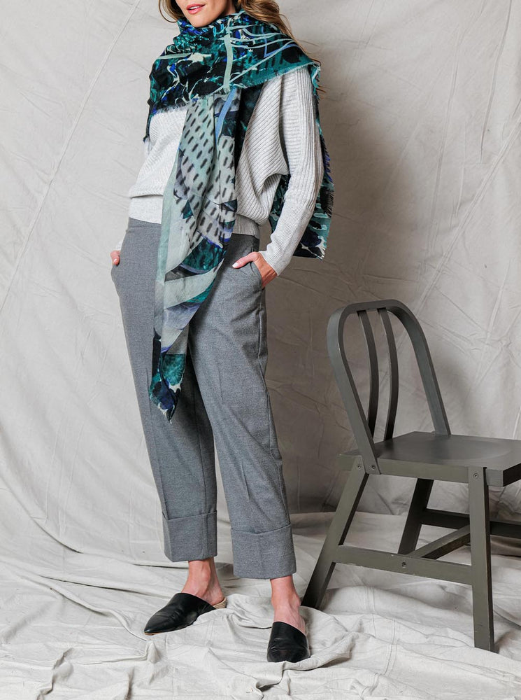 Load image into Gallery viewer, Act Merino Wool Scarf