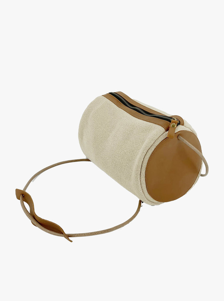 Natural Barrel Bag