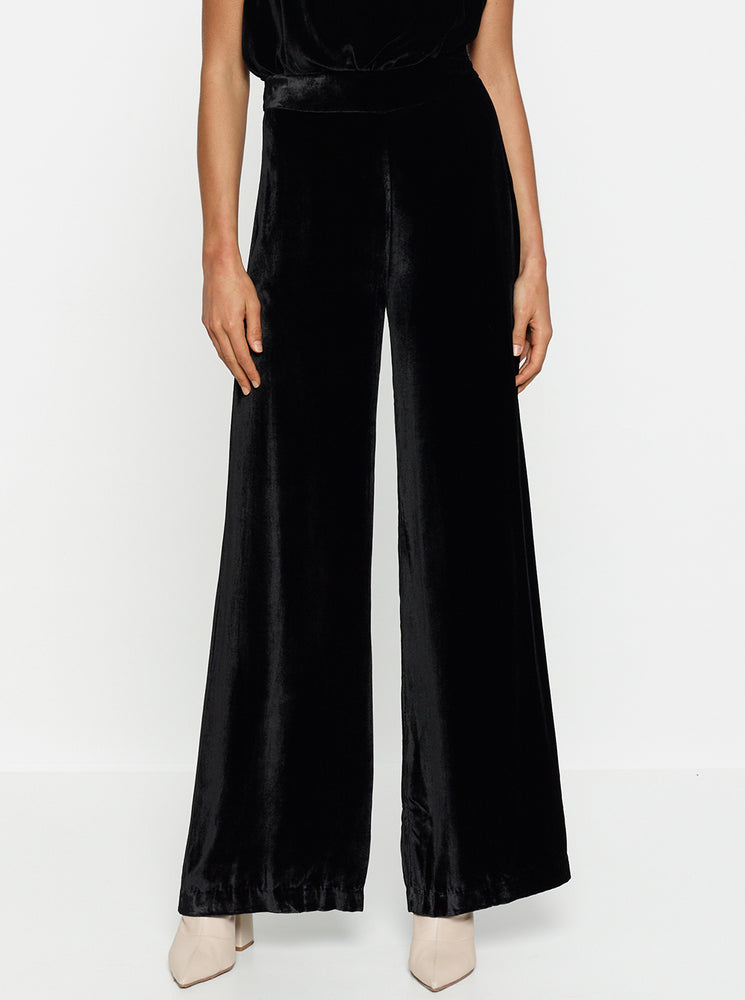 First Love Velvet Wide Leg Pant