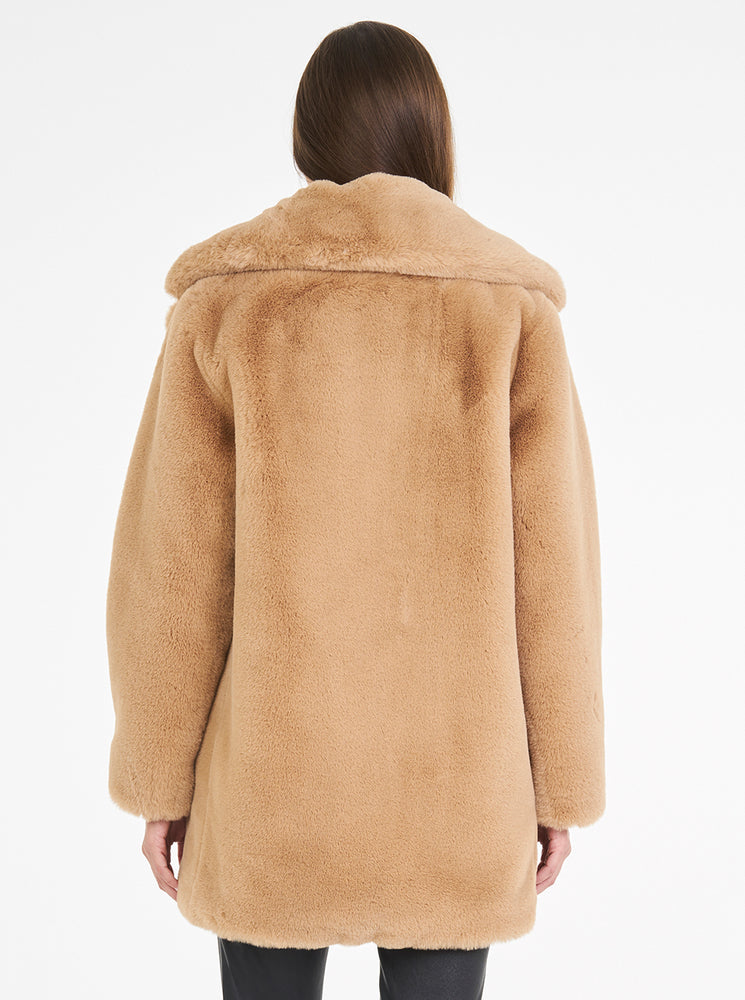 Load image into Gallery viewer, Teddy Luxe Long Jacket