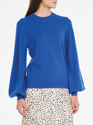 Loved Up Cashmere Balloon Sleeve Knit