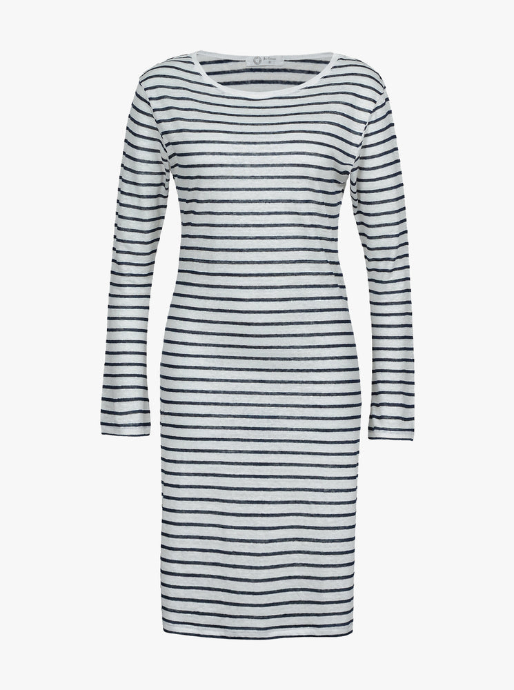 Load image into Gallery viewer, Linen Boatneck Dress