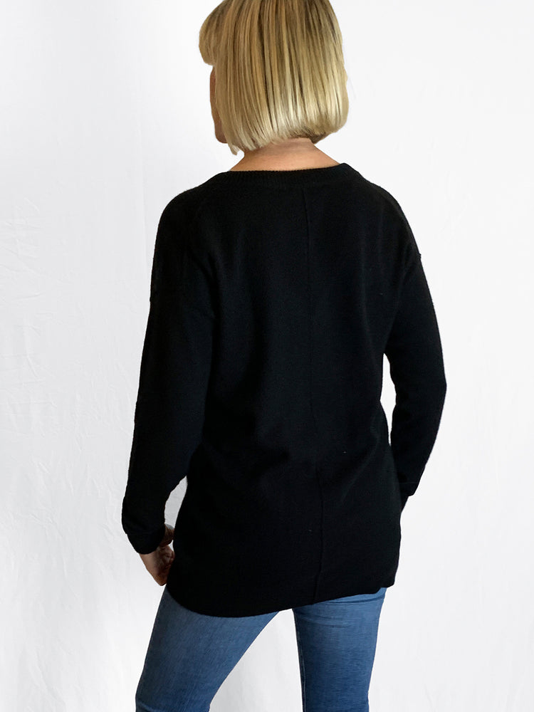 Load image into Gallery viewer, Loved Up Cashmere V-Neck Knit