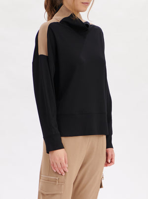 *PRE-ORDER* Neck Panel Sweater