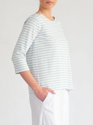 Relaxed Boatneck Top