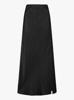 Luxe Silk Maxi Skirt