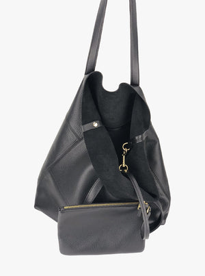 Roamer Leather Shopping Bag