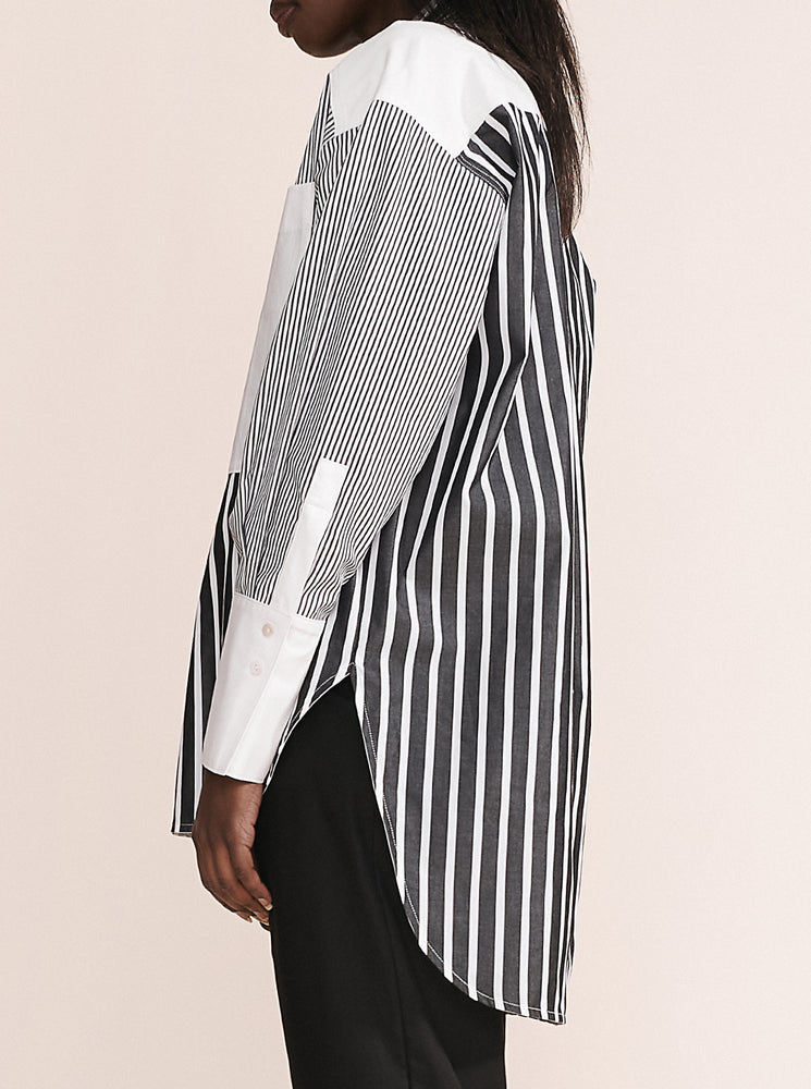 Combination Stripe Nytta Shirt